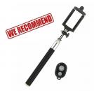 SELFIE tyč pro Huawei P Smart s bluetooth ovladačem, černá